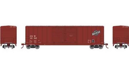 Athearn # ATH27189   Chicago & North Western  50' FMC Centered DD Box