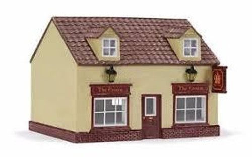 "Hornby #R9860 ""The Crown"" Public House Resin Building"