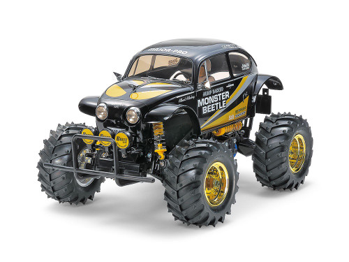 Tamiya #47419 1/10 Monster Beetle (Black Edition)