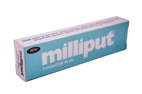 Milliput #06 2 Part Epoxy Putty (Turquoise Blue)