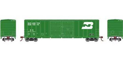 Athearn # ATH27188   Burlington Northern  HO 50' FMC Centered DD Box