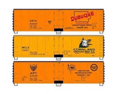 Accurail #8093 40' Steel Reef DUBUQ (3)  Kit