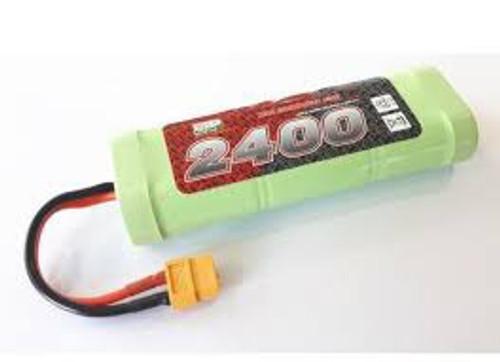 Enrichpower #EP2400 Battery 7.2V 2400mAh NIMH with XT60 Plug