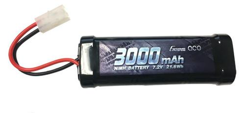 Gens-Ace #3000-7.2 NiMH with Tamiya Plug