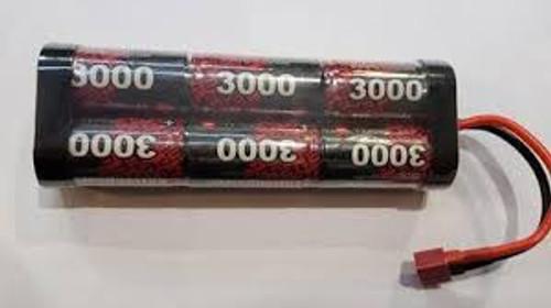 Enrichpower #ENF3000SCD  7.2V 3000mAh NIMH-Deans Plug
