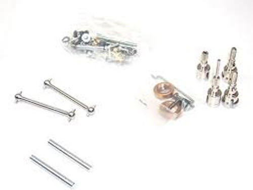 Tamiya #19402627 CC-01 Metal Parts Bag B