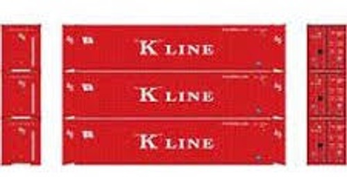 Athearn #ATH224554 HO 45'Containers (3pack)