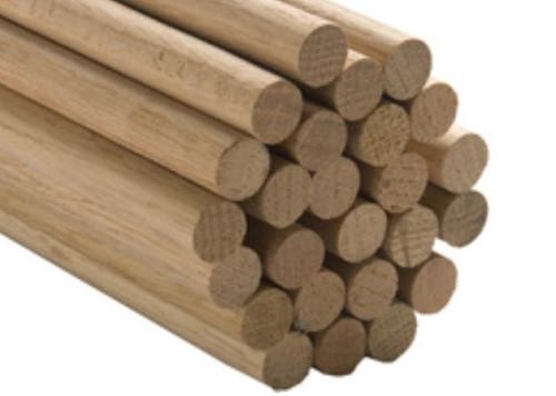 BalsaWood #BNM5409  3/8 x 36 inch Wood Dowel 1pc