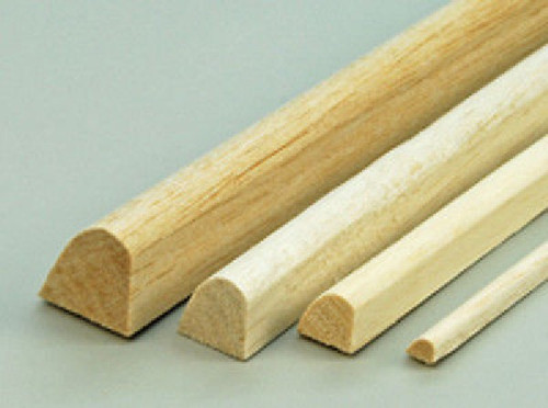 Balsa Wood  #53664 25 x 12 x 915 mm Leading Edge 1Pc