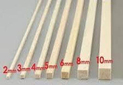 Balsa Wood #BNM1093 1/2 x 1/2 x 36(12.7mm)