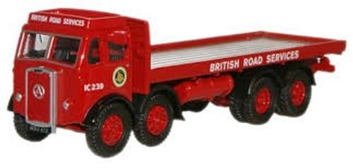 Oxford #76ATKL001 1/76 BRS Atkinson 8 Wheel Flatbed Lorry