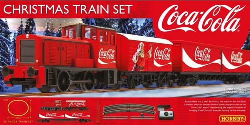 Hornby #R1233 Coca Cola Xmas Train Set