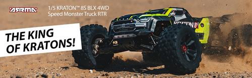 ARRMA #ARA110002T1 1/5 Kraton 4x4 8S BLX Monster Truck