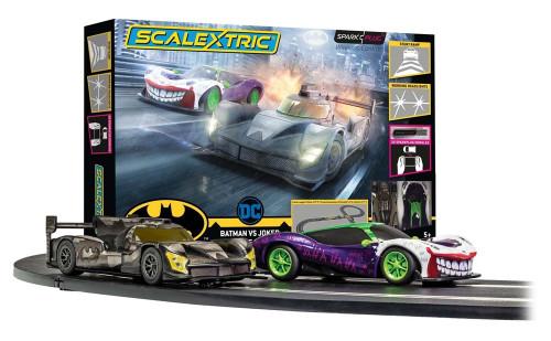 Scalextric #C1415 1/32 Spark Plug Set Batman VS Joker