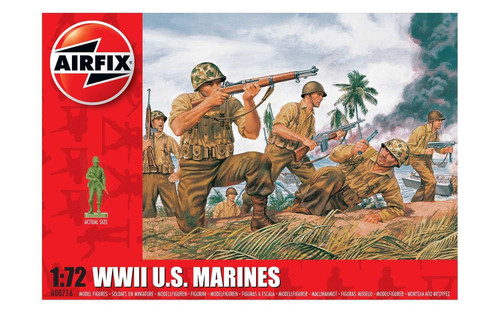 Airfix #A00716 1/72 WWII U.S Marines