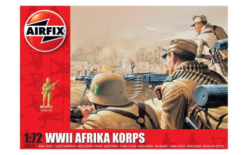 Airfix #A00711 1/72 WWII Afrika Korps
