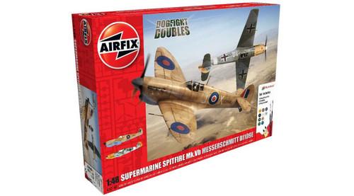 Airfix # A50160 1/48 Dog Fight Double Spitfire Vs Messerschmitt