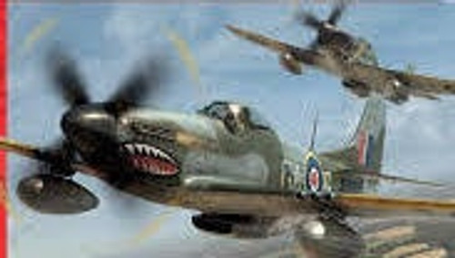 Airfix #A551071/72 North American Mustang lV Starter set