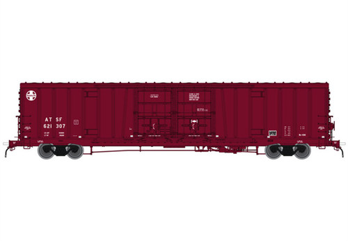 "Atlas # 20004945  HO 60' ATSF Bx-166 Santa Fe24"" Logo #4"