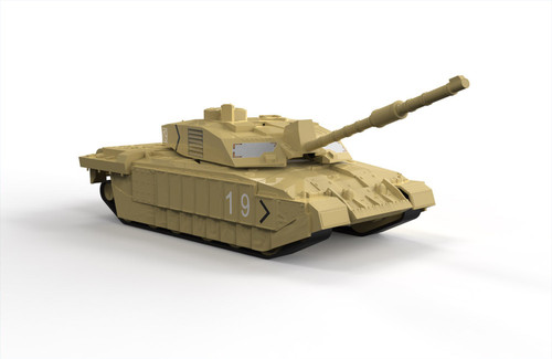 Airfix #J6010 Challenger Tank -Quick Build