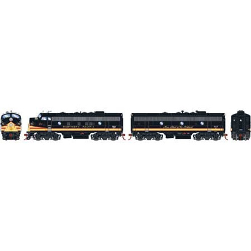 Athearn Genesis # ATHG12444 HO F7 A/B DCC with Sound BN (Ex-NP)