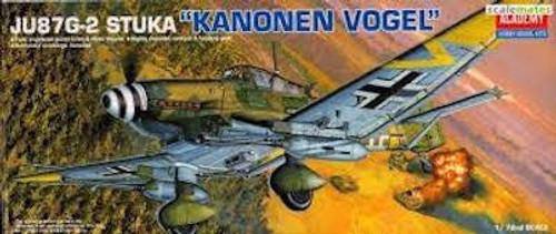 """Academy #12404 1/72 JU87G-2 Stuka """"Kanonen Vogel"""""""