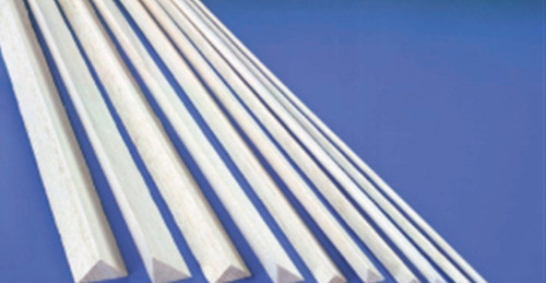 BalsaWood #  8 x 8 x 915mm Triangle 1pc