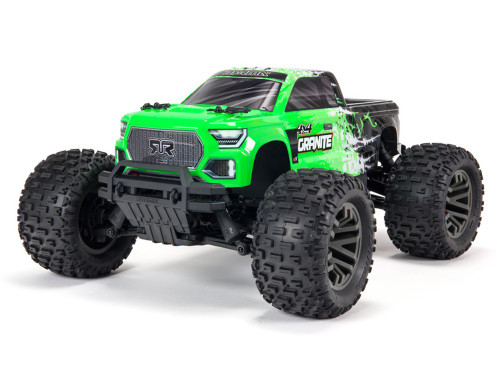 ARRMA #ARA4302V3T1 Ver.3 Granite 3S Brushless 4WD Monster Truck-Green