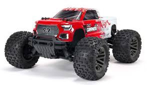 ARRMA #ARA4302V3T2 Ver.3 Granite 3S Brushless 4WD Monster Truck-Red
