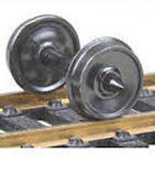"""Kadee #522 36"""" Metal Wheels 12 pack"""