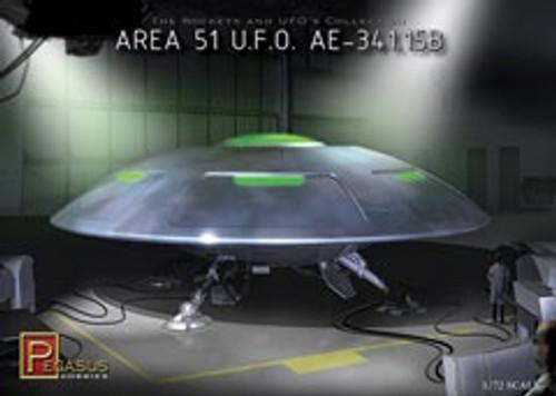 Pegasus Models #9100 1/72 Area 51 U.F.O AE-341.15B