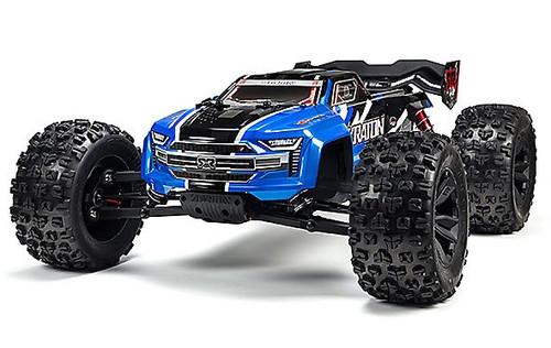 ARRMA #ARA106040T2 1/8 Kraton 6S 4WD BLX Monster Truck-Blue