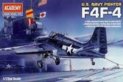 Academy #12451 U.S. Navy Fighter F4F-4