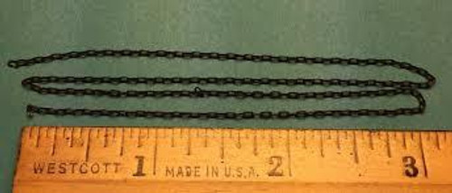 "A-Line #29221 Black Chain -15 Links per Inch 12"" Length"