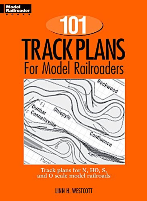 Model Railroader #12012 101 Track Plans for Model Railroads