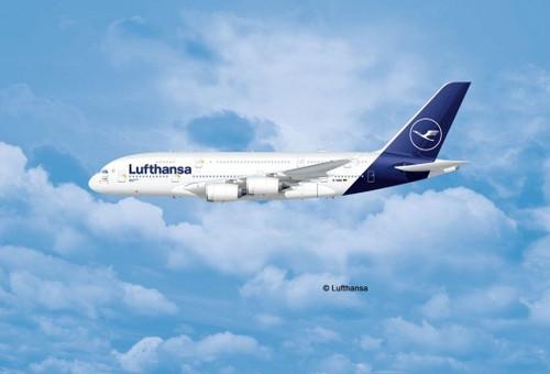Revell #03872 1/144 Airbus A380-800 Lufthansa