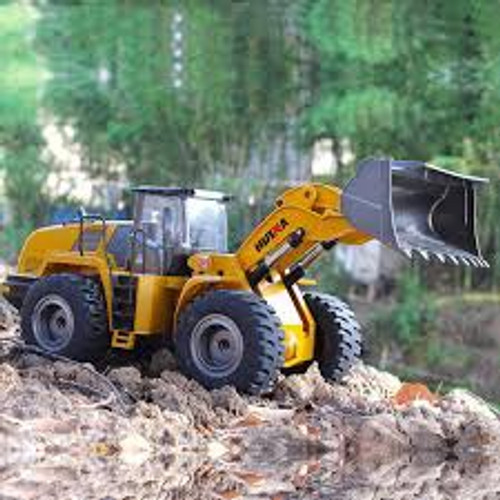 Huina #1583 1/14 22CH RC Alloy Loader in Gift Box