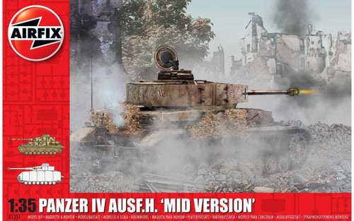 "Airfix #1351 1/35 Panzer IV Ausf.H ""Mid Version'"