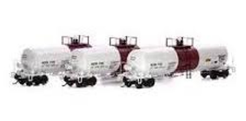 Athearn Genesis #ATHG40176 HO GATC 20K Tank Cars-Reagent Chemical & Research