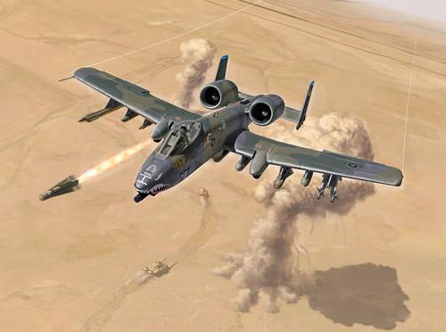 Italeri #1376 1/72 A-10 A/C Thunderbolt II