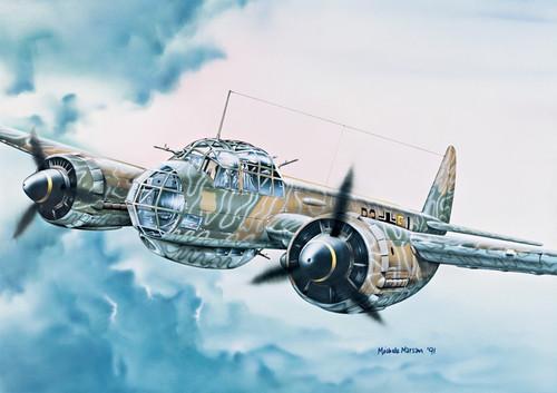 Italeri #1018 1/72 Junkers Ju88 A-4