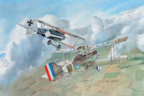 Italeri #1374 1/72 S.E.5a Albatros D.111