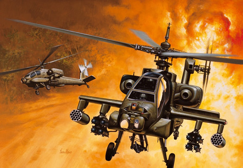 Italeri #159 1/72 AH64 Apache