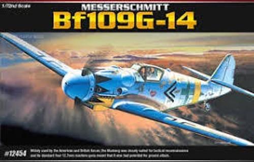 Academy #12454 1/72 Messerschmitt Bf 109 G-14
