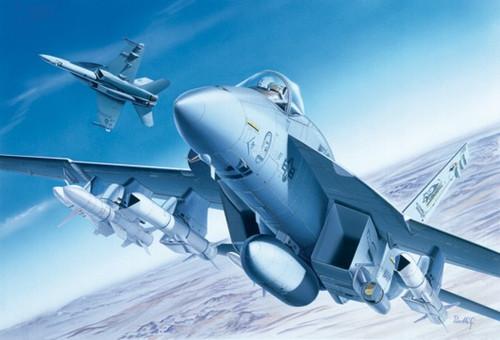 Italeri #083 1/72 F/A-18E Super Hornet