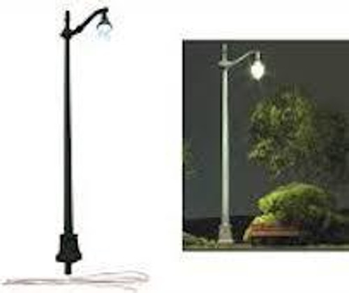 Just Plug #JP5639 N Scale 3 Street Lights-Arched Cast Iron