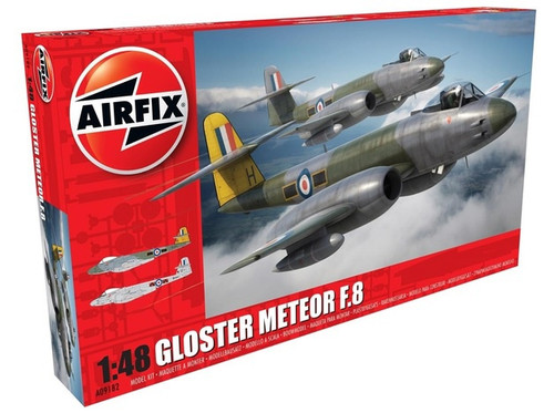 Airfix # A09182 1/48 Gloster Meteor F.8