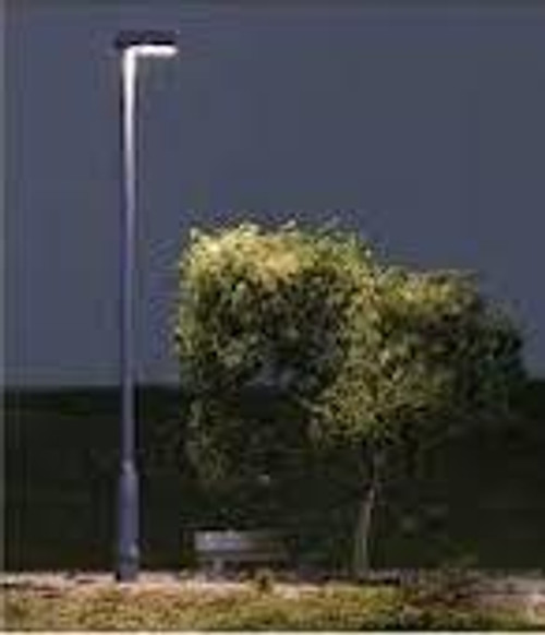 Just Plug #JP5675 3 HO Scale Metal Lamp Street Lights