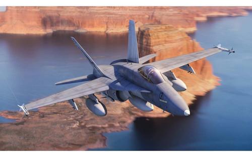 Airfix #A055313 1/72 McDonnell Douglas F/A-18A Hornet Starter Set