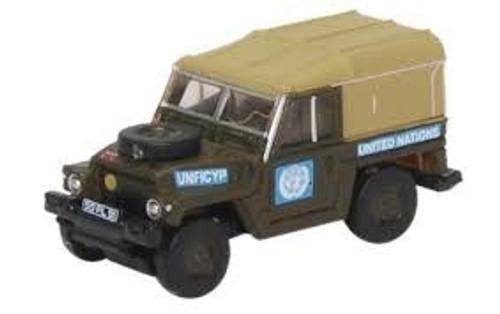 Oxford #NLRL001 N SCale Land Rover 1/2 Ton Lightweight-UN